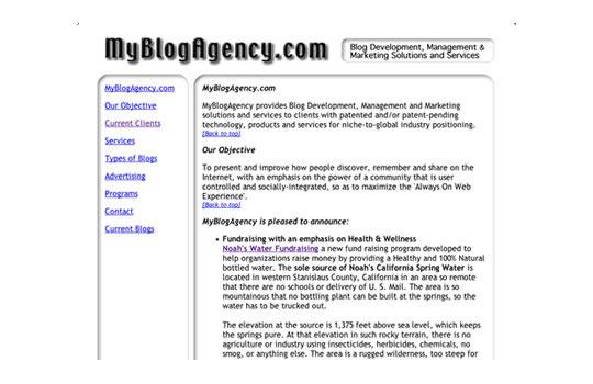 MyBlogAgency